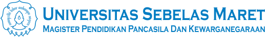 Website Resmi Program Studi Magister Pendidikan Pancasila dan Kewarganegaraan Pascasarjana UNS