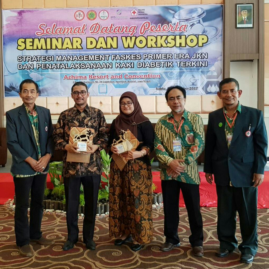 Mahasiswa S3 IKM UNS menjadi narasumber pelatihan workshop