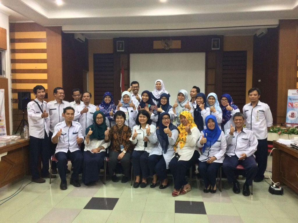 Kepala Program studi S3 IKM UNS menjadi narasumber seminar hasil penelitian di BBKPM Surakarta