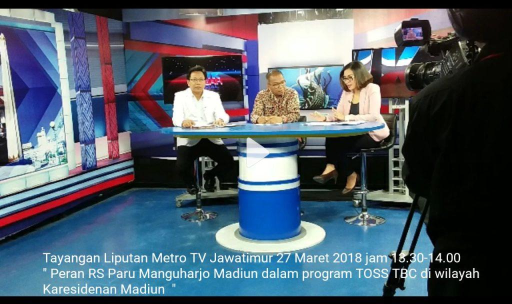Mahasiswa S3 IKM UNS menjadi narasumber talk show di metro tv jatim