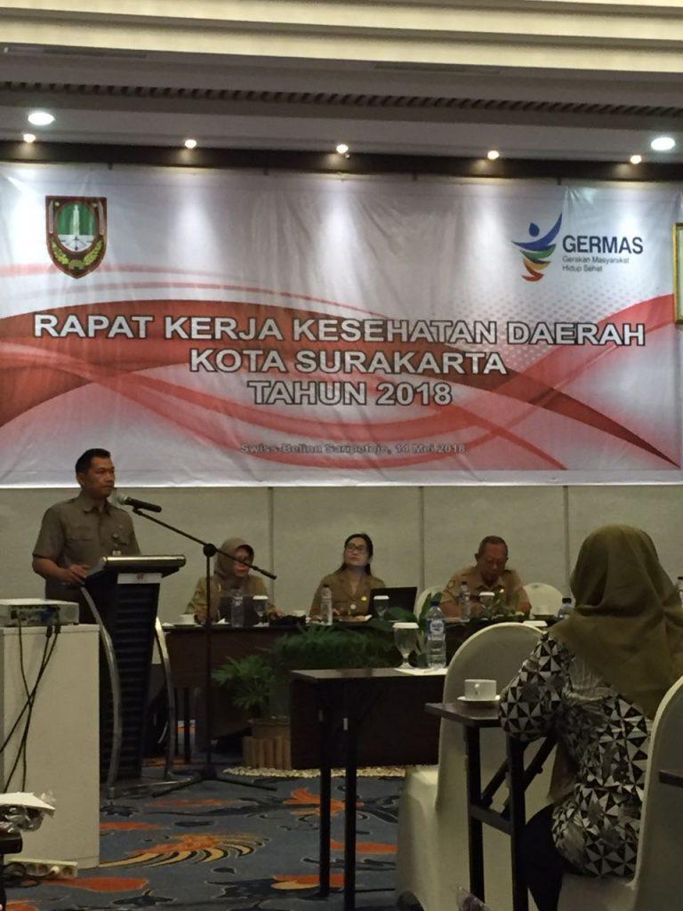 Partisipasi prodi S3 kesehatan masyarakat dalam rapat kerja kesehatan kota surakarta
