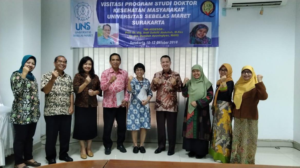 Program Studi S3 Kesehatan Masyarakat menerima assesor akreditasi LAM-PT Kes