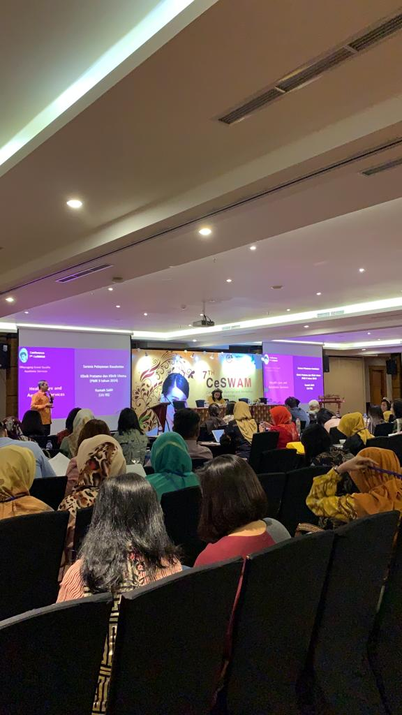 Kegiatan mahasiswa Program Doktor Kesehatan Masyarakat UNS a.n. Husen Prabowo dalam Conference 7th Central Java Seminar and Workshop Aesthetic Medicine