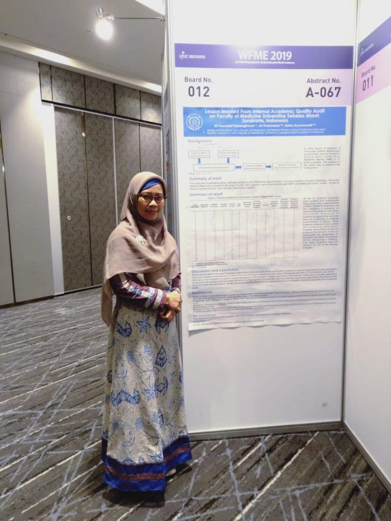 Kegiatan Dosen Program Doktor Kesehatan Masyarakat UNS Dr Eti Poncorini Pamungkasari, dr, MPd dalam acara WMFE 2019 Conference di Republic of Korea