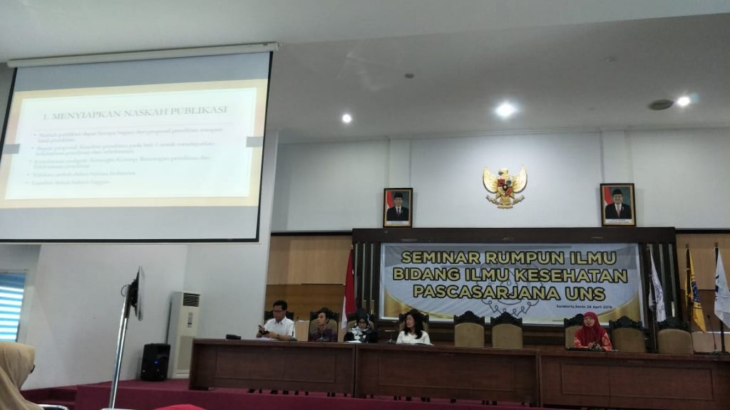 Kegiatan Seminar Rumpun Ilmu Bidang Kesehatan Pascasarjana UNS