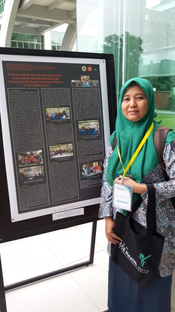 Poster publikasi pengabdian hibah PKM DIKTI mahasiswa S3 IKM UNS atas nama Ida Untari