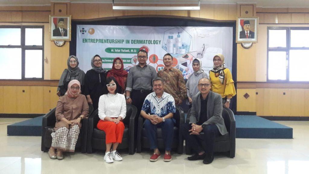 """Mahasiswa S3 IKM UNS a.n. Istar Yuliadi menjadi Narasumber dalam Acara """"Entrepreneurship in Dermatology"""" di RSUD Dr MOEWARDI Surakarta"""