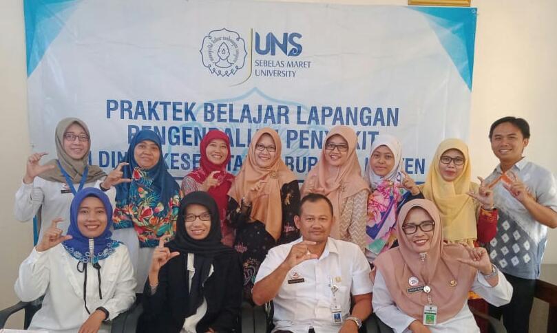 Kegiatan Praktek Belajar Lapangan Mahasiswa S3 IKM UNS di Dinas Kesehatan Kabupaten Klaten