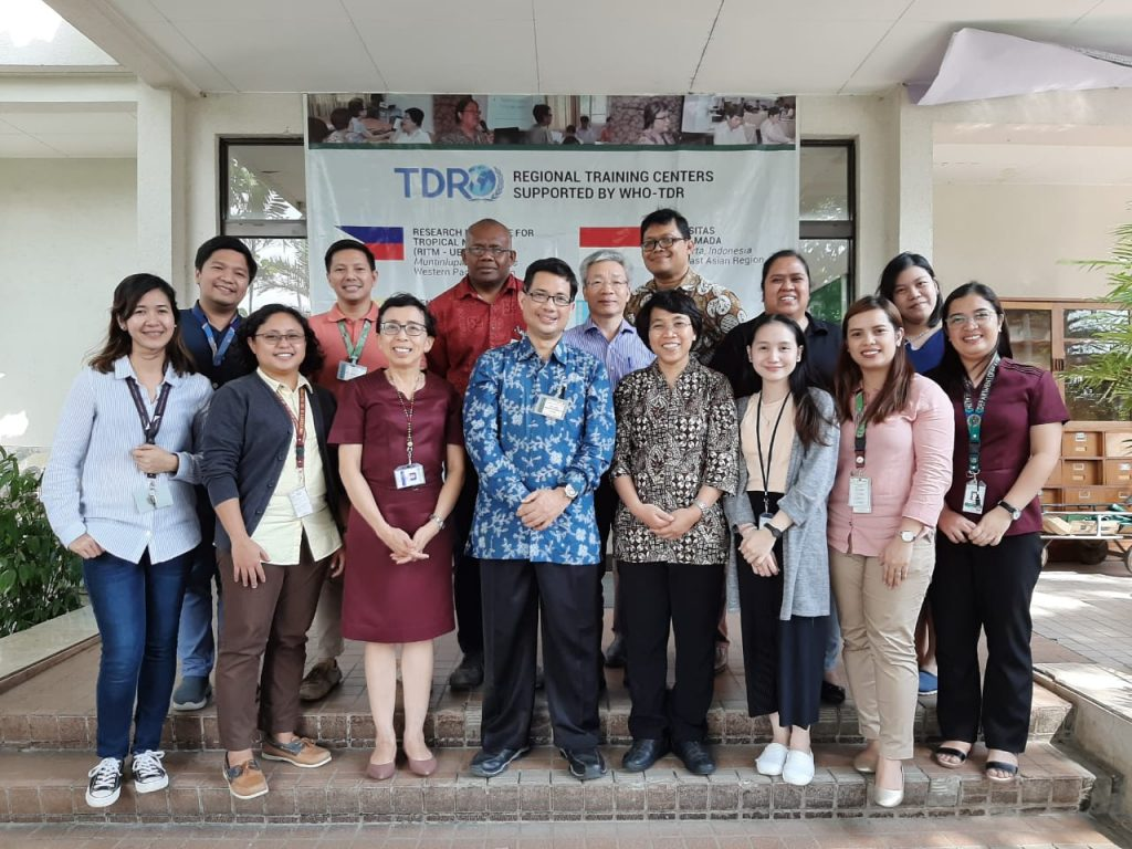 Dosen S3 IKM UNS atas nama Ari Natalia Probandari, dr, MPH, PhD menjadi Fasilitator Implementation Research Training di Research Institute of Tropical Medicine the Philippines