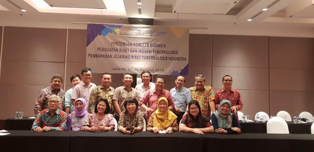 Kepala Program Studi S3 Kesehatan Masyarakat UNS mengikuti pertemuan Komite Ahli dan Jejaring Riset Tuberkulosis Indonesia