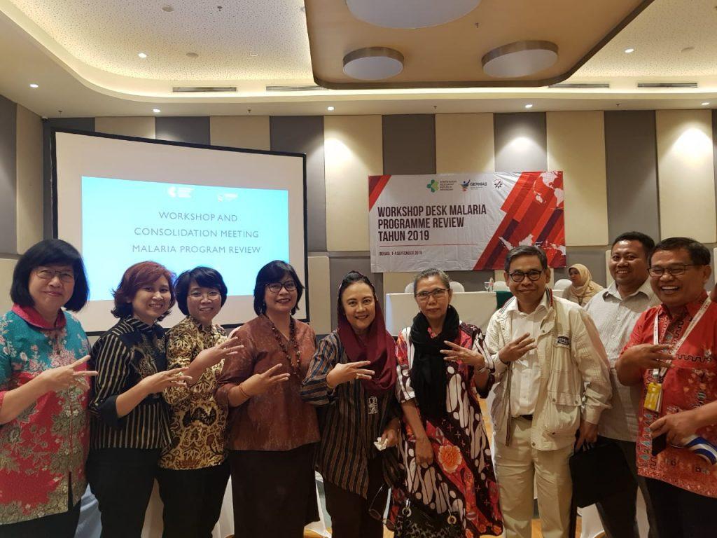 Kepala Program Studi S3 Kesehatan Masyarakat UNS mengikuti kegiatan Workshop Desk Malaria Programme Review