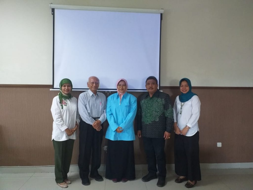 Ujian Proposal Disertasi Mahasiswa S3 IKM UNS a/n Yessy Nur Endah Sary NIM T511708006