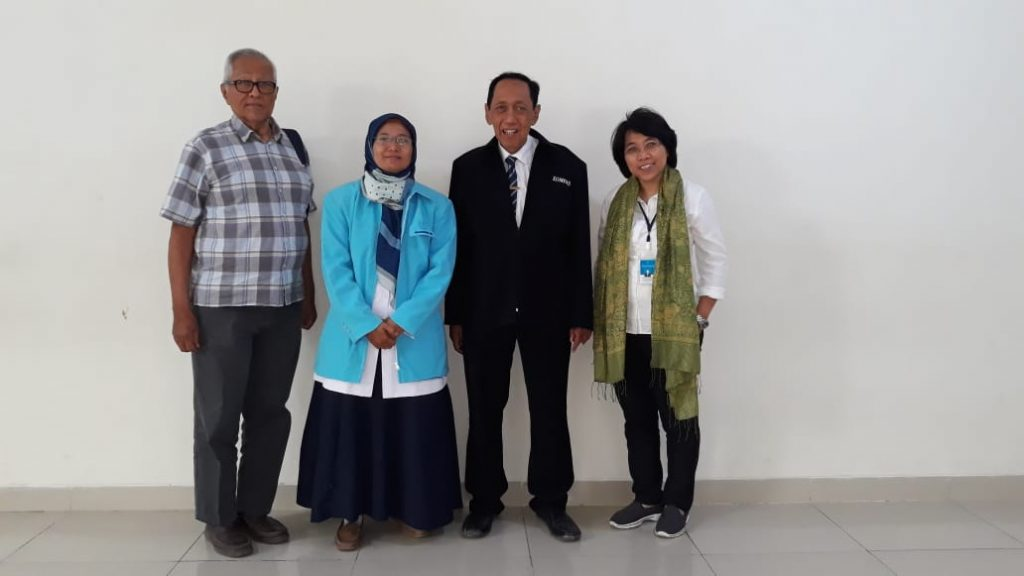 UjianSeminar Kemajuan Riset dan Naskah Publikasi II Mahasiswa S3 IKM UNS atas nama Ida Untari