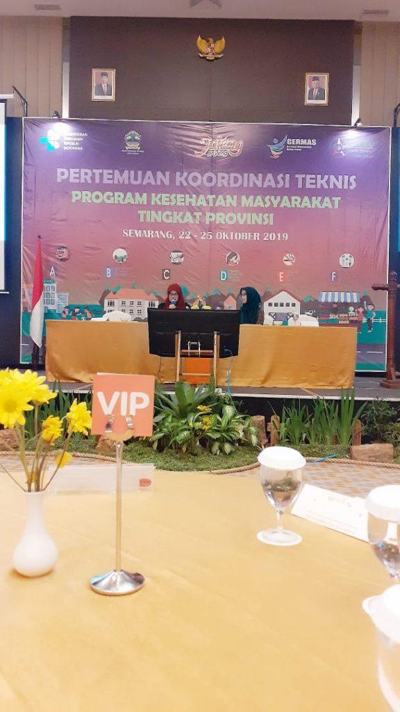 Vitri Widyaningsih, dr., MS., Ph.D, dosen S3 IKM dan FK UNS, menjadi narasumber dalam Pertemuan Koordinasi Teknis Program Kesehatan Masyarakat Tingkat Provinsi