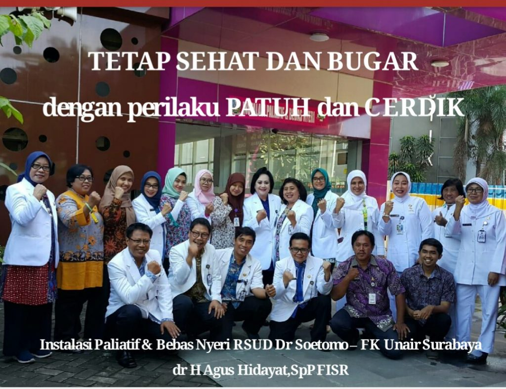 Mahasiswa S3 Kesehatan Masyarakat UNS a/n Agus Hidayat menjadi narasumber dalam acara Sosialisasi PATUH pada Penderita Penyakit Tidak Menular