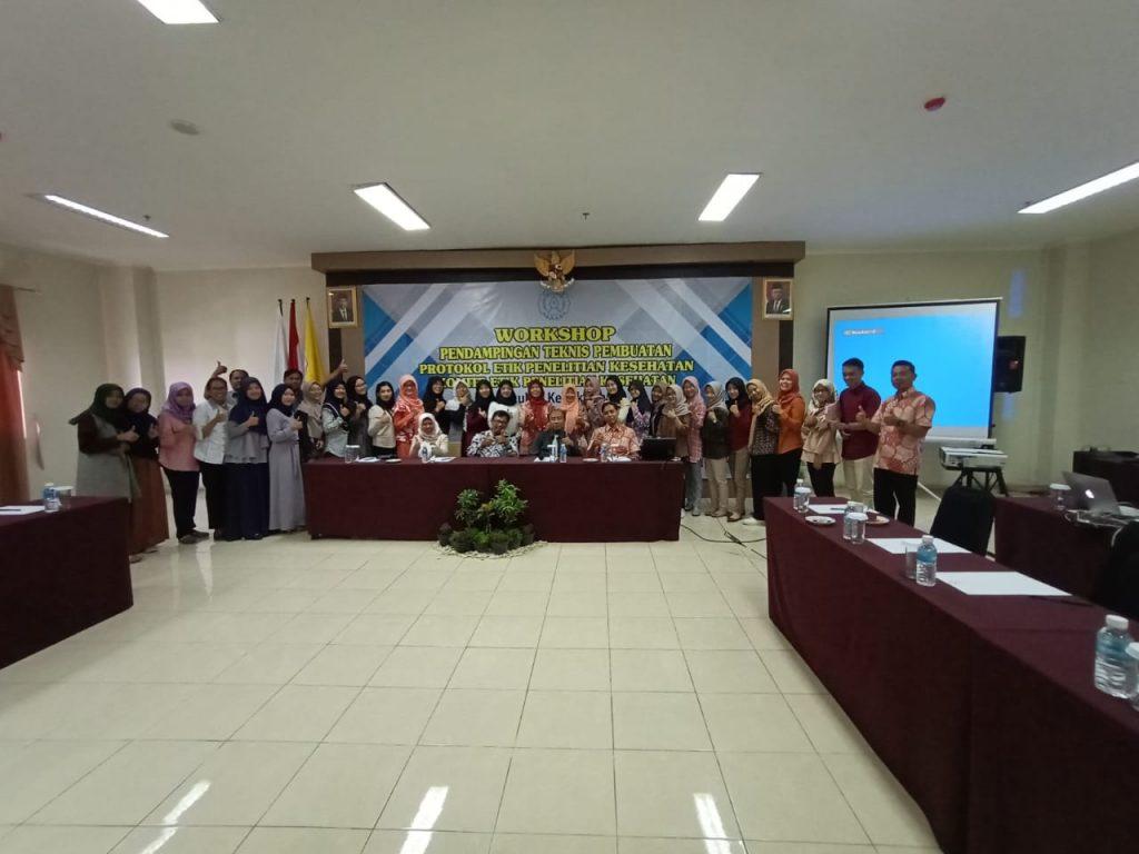 Kegiatan Workshop Pendampingan Teknis Pembuatan Protokol Etik Penelitian Kesehatan
