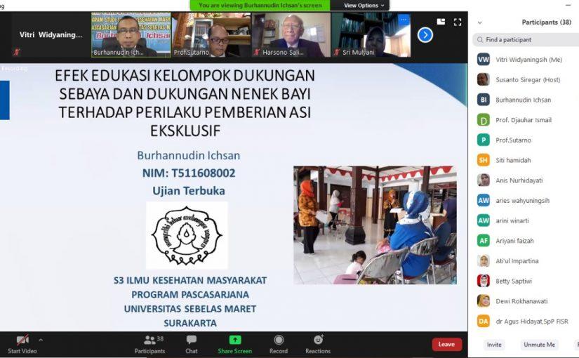 Ujian Terbuka Disertasi a.n. Burhanuddin Ichsan