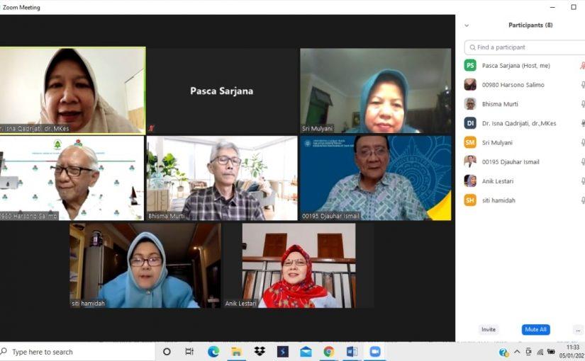 Ujian Seminar Kemajuan Riset Mahasiswa a.n Siti Hamidah