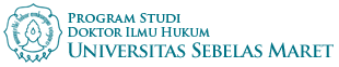 Website Resmi Program Studi Doktor Ilmu Hukum UNS