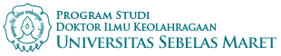 Website Resmi Program Studi Doktor Ilmu Keolahragaan UNS