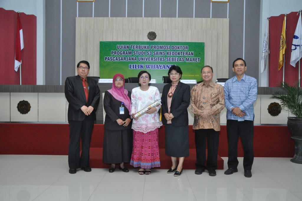 UJIAN TERBUKA DISERTASI A.n Lilik Wijayanti