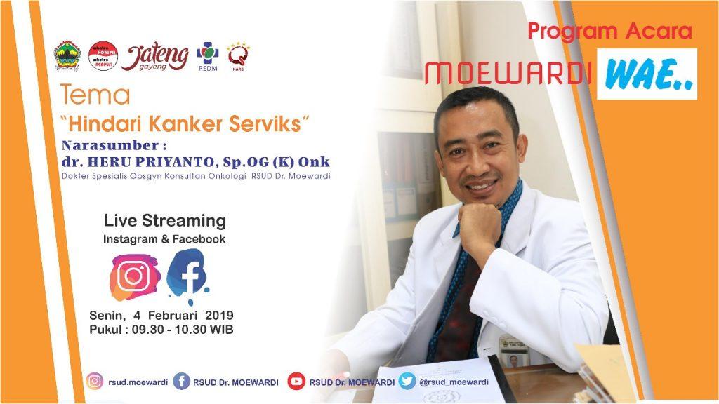 """Alumni PSIK S3 A.n Dr. Heru Priyanto.,dr.,SpOG (K) Program Studi Ilmu Kedokteran S3 Sebagai Pembicara """"Hindari Kanker Serviks"""""""