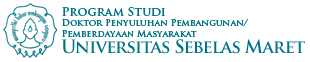 Website Resmi Program Studi Doktor Penyuluhan Pembangunan/Pemberdayaan Masyarakat UNS